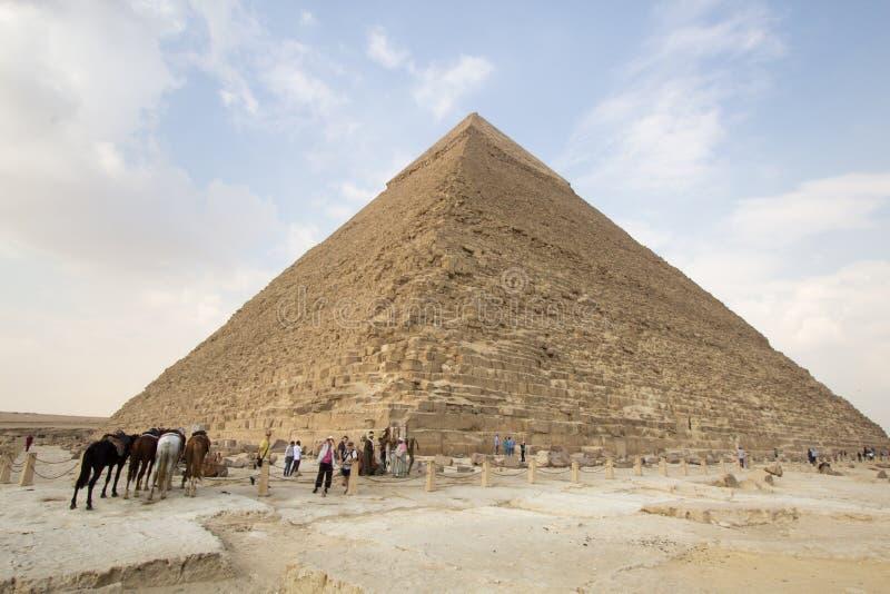 Πυραμίδα Khufu στοκ φωτογραφία