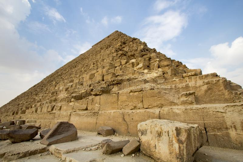 Πυραμίδα Khufu στοκ φωτογραφίες