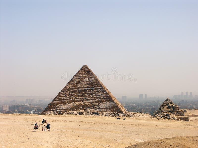 πυραμίδα menkaure στοκ εικόνα