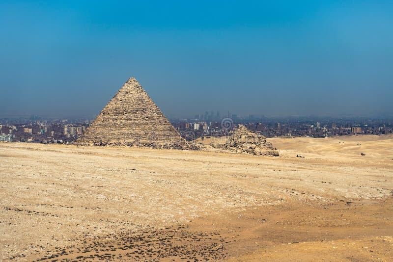 Πυραμίδα Menkaure Giza, Κάιρο, Αίγυπτος στοκ εικόνα με δικαίωμα ελεύθερης χρήσης