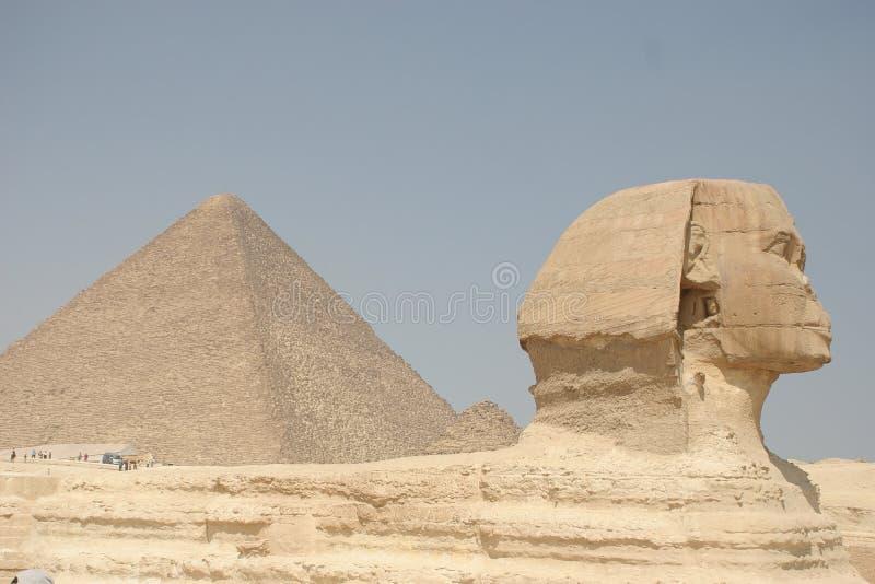πυραμίδα sphinx στοκ φωτογραφίες με δικαίωμα ελεύθερης χρήσης