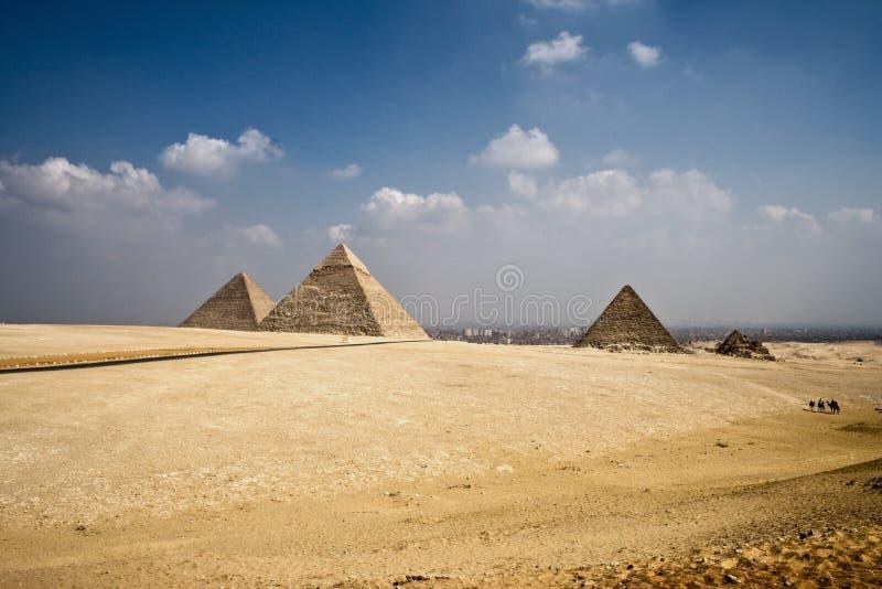 πυραμίδες στοκ φωτογραφία