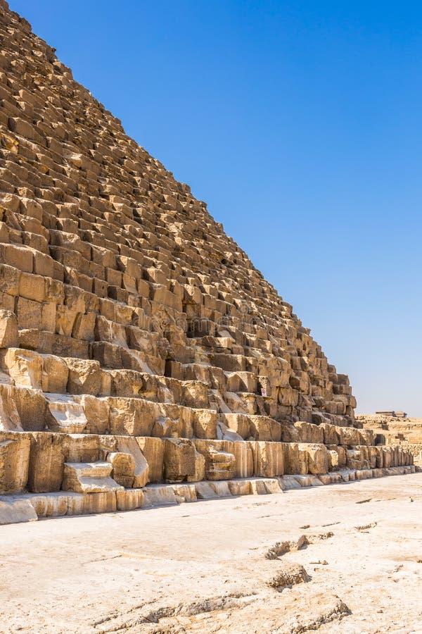 πυραμίδες giza της Αιγύπτου στοκ φωτογραφία