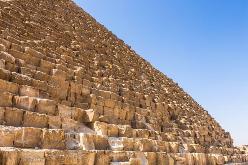 πυραμίδες giza της Αιγύπτου στοκ εικόνα με δικαίωμα ελεύθερης χρήσης