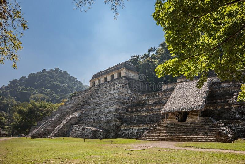 Πυραμίδα της Maya στοκ εικόνες με δικαίωμα ελεύθερης χρήσης