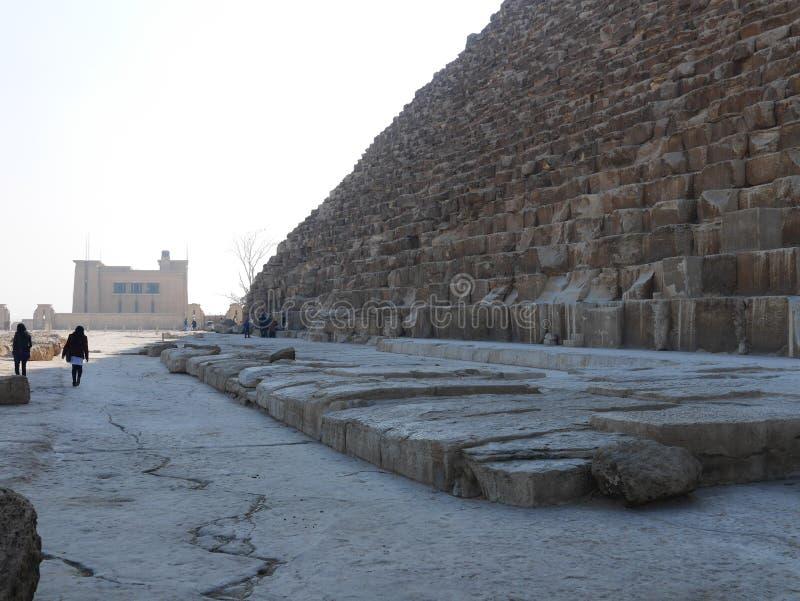 Πυραμίδα Khufu στο Κάιρο στοκ φωτογραφίες