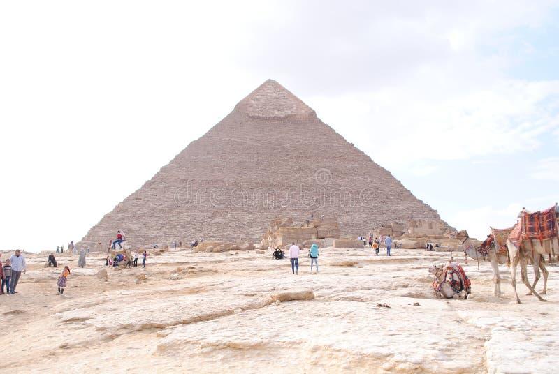 Πυραμίδες στην Αίγυπτο στοκ εικόνα