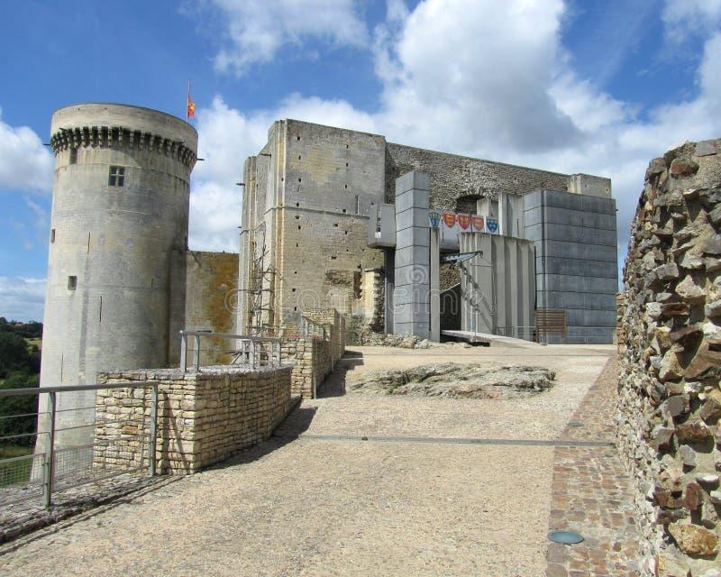 Πυργος Falaise, Γαλλία στοκ εικόνες