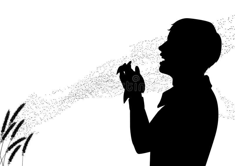 Πυρετός σανού ελεύθερη απεικόνιση δικαιώματος