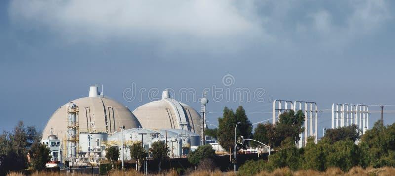 πυρηνικός αντιδραστήρας στοκ φωτογραφία