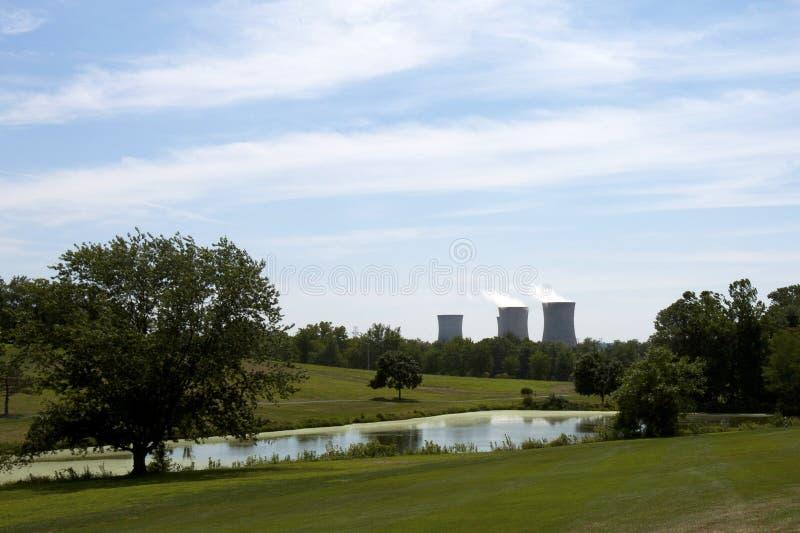 Πυρηνικός αντιδραστήρας στοκ φωτογραφίες