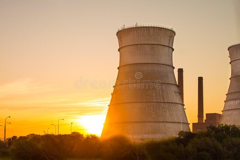Πυρηνικός αντιδραστήρας στοκ εικόνα με δικαίωμα ελεύθερης χρήσης
