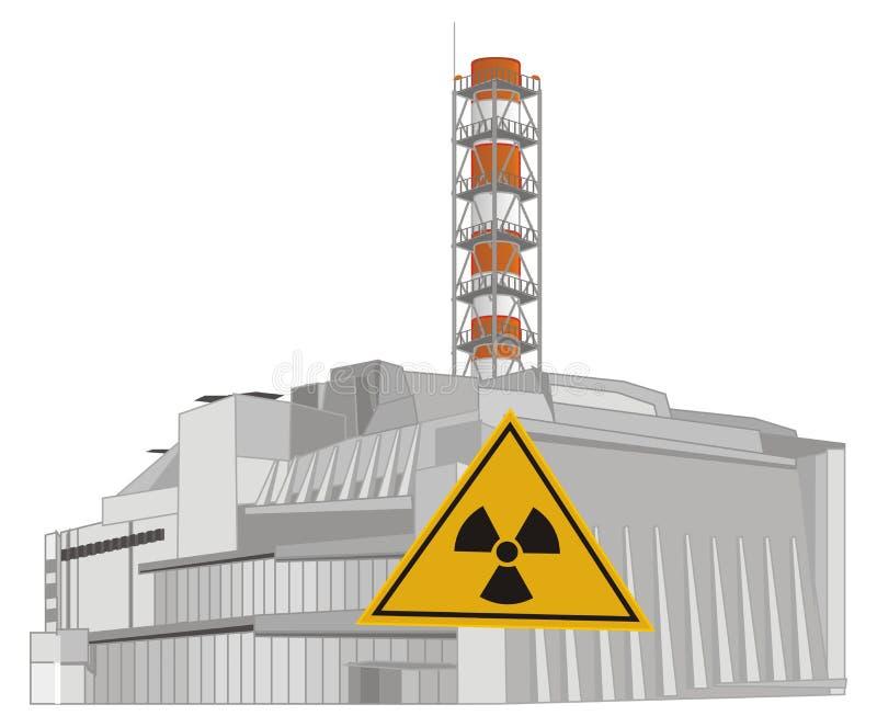 Πυρηνικός σταθμός και ακτινοβολία απεικόνιση αποθεμάτων