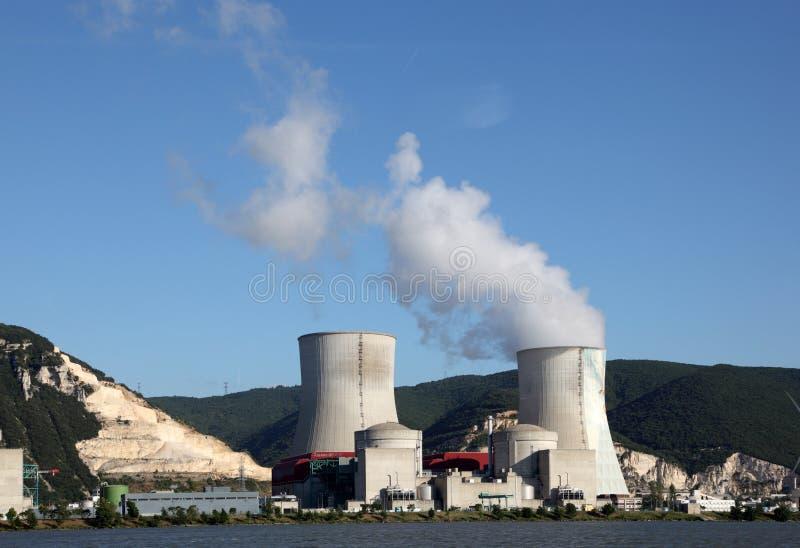 Πυρηνικός σταθμός στοκ εικόνες με δικαίωμα ελεύθερης χρήσης