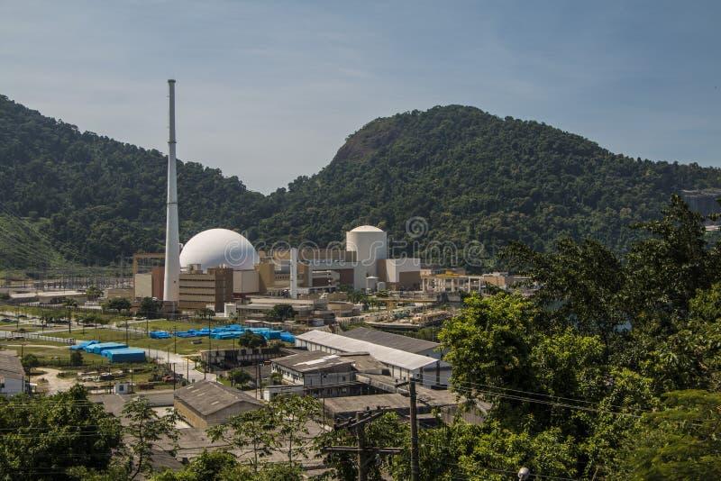 Πυρηνικός σταθμός Angra στοκ φωτογραφία
