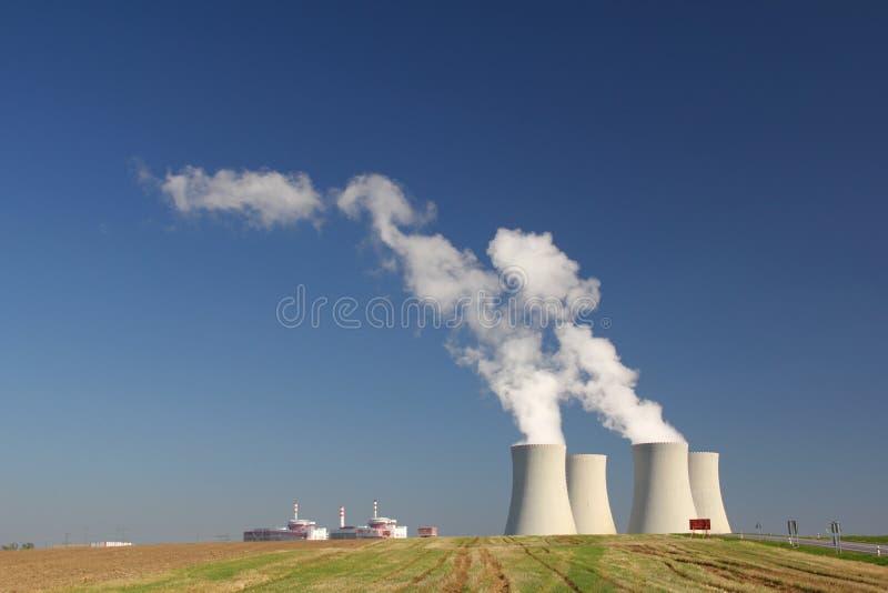 Πυρηνικός σταθμός Temelin στη Δημοκρατία της Τσεχίας στοκ εικόνα