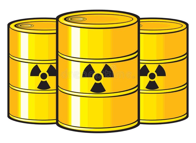 Πυρηνικός διανυσματική απεικόνιση