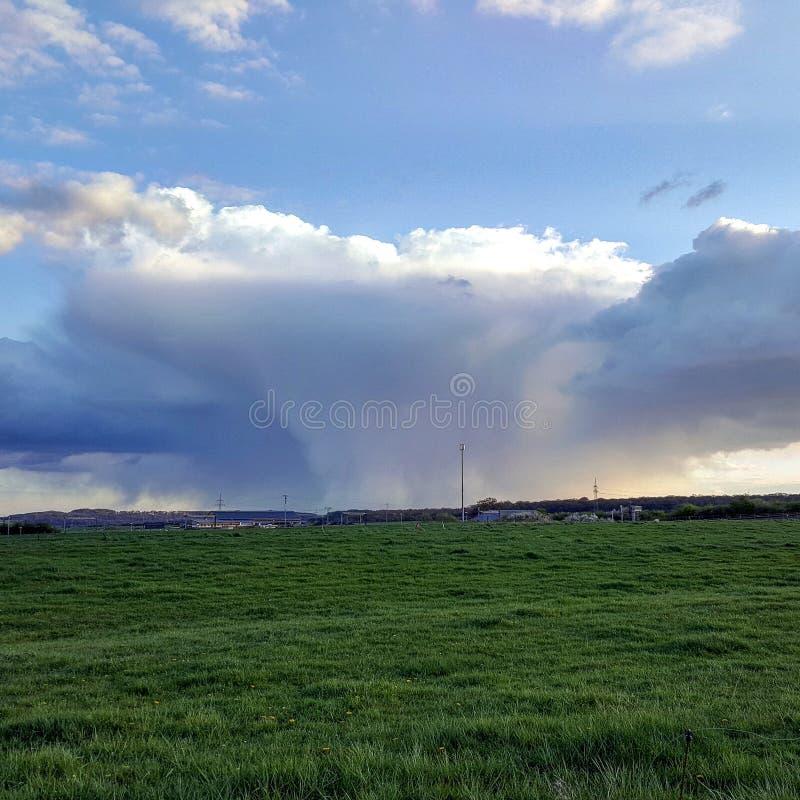 Πυρηνικό σύννεφο στοκ φωτογραφίες με δικαίωμα ελεύθερης χρήσης