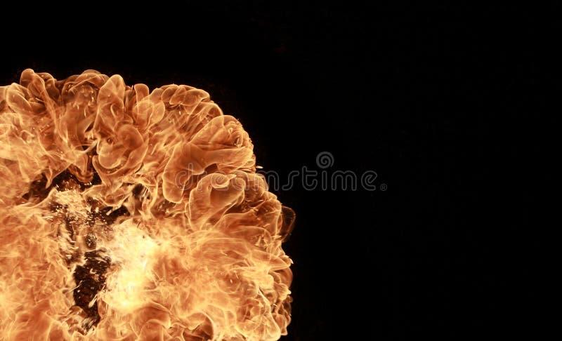 πυρκαγιά έκρηξης στοκ φωτογραφίες με δικαίωμα ελεύθερης χρήσης