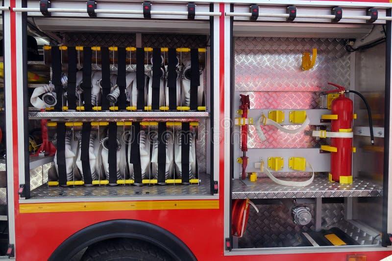Πυρκαγιά εξοπλισμού Βοήθεια στοκ φωτογραφίες με δικαίωμα ελεύθερης χρήσης