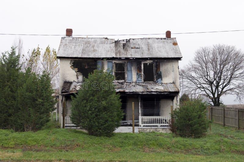 πυρκαγιά ζημίας στοκ εικόνες
