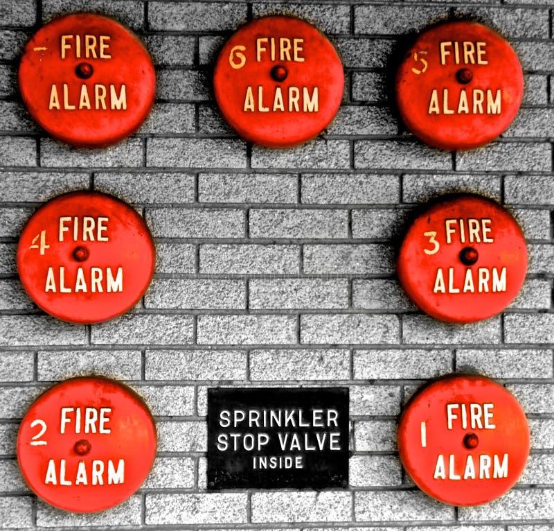 πυρκαγιά κουδουνιών στοκ εικόνα με δικαίωμα ελεύθερης χρήσης