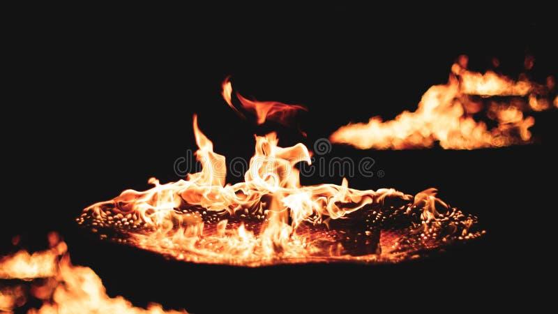 Πυρκαγιά μέσα σε με στοκ εικόνες με δικαίωμα ελεύθερης χρήσης