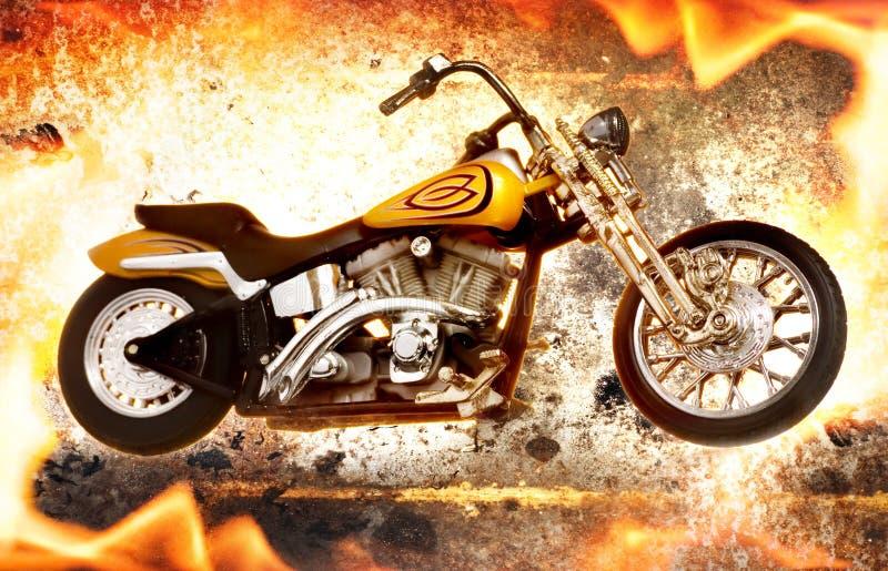 πυρκαγιά ποδηλάτων στοκ φωτογραφίες με δικαίωμα ελεύθερης χρήσης