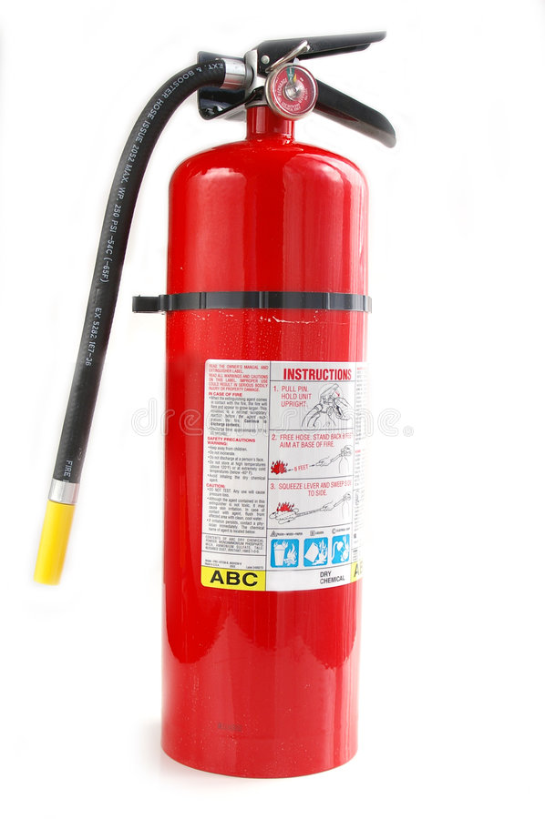 Download πυρκαγιά πυροσβεστήρων στοκ εικόνα. εικόνα από εξοπλισμός - 397449