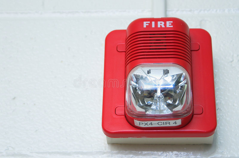 Download πυρκαγιά συναγερμών στοκ εικόνα. εικόνα από ανιχνευτής - 1528887