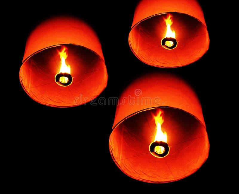 Download πυρκαγιά Ταϊλανδός μπαλονιών Στοκ Εικόνες - εικόνα από τυχερός, ελπίδα: 22781886
