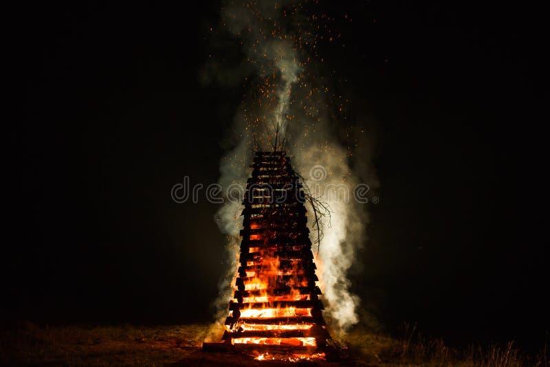 Πυρκαγιά του ST John ` s στοκ φωτογραφία