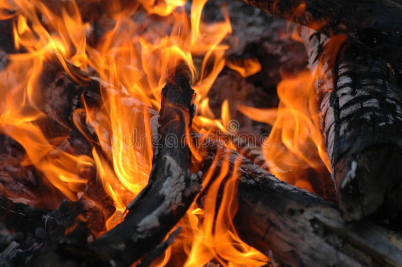 Download πυρκαγιά στοκ εικόνα. εικόνα από δάσος, campfire, φως - 1534289