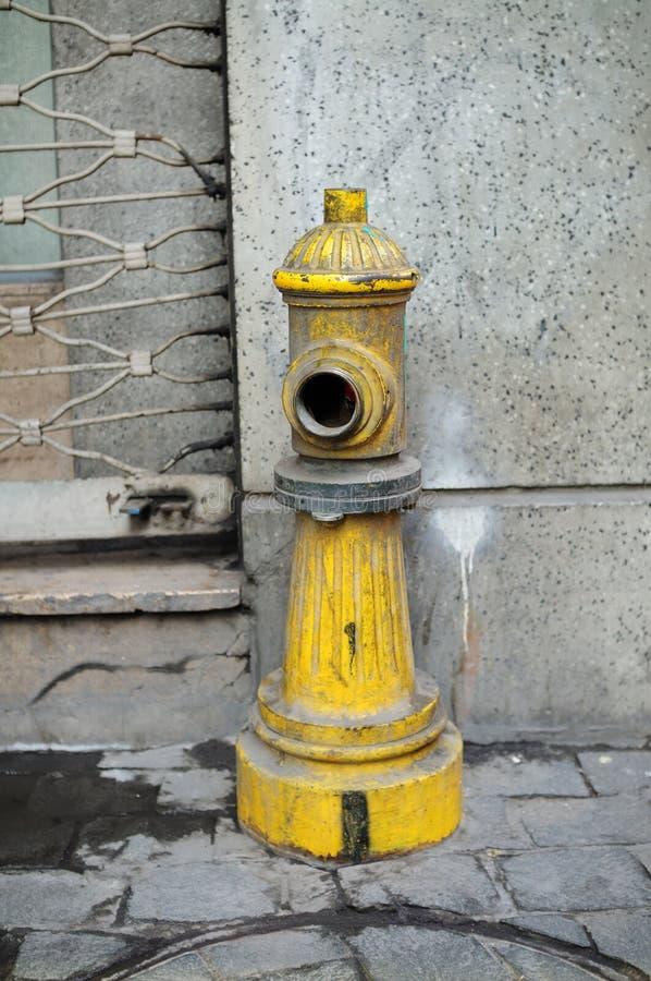 Πυρκαγιά Hidrant οδός στοκ φωτογραφία