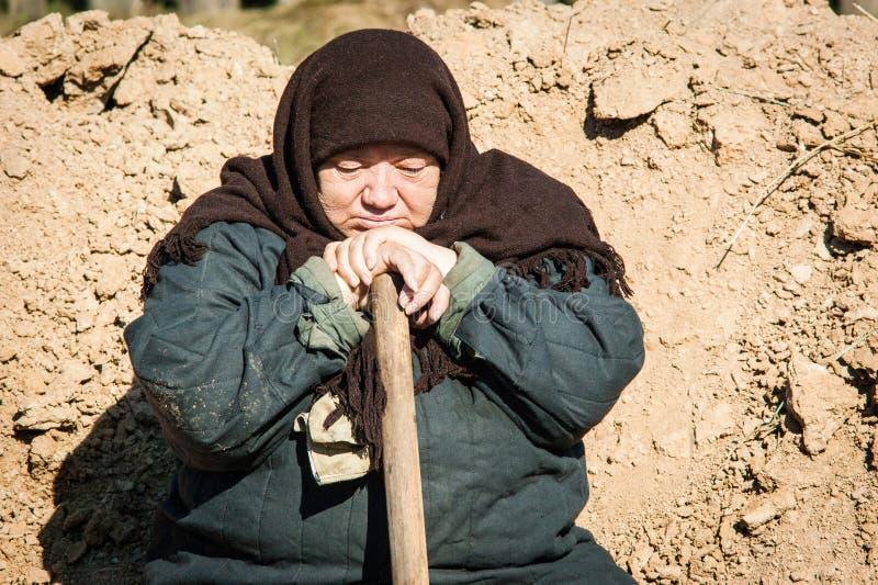 Πυροβολισμός των συνόρων ` ταινιών ` Ilyinsky στην περιοχή Kaluga της Ρωσίας στοκ φωτογραφία με δικαίωμα ελεύθερης χρήσης