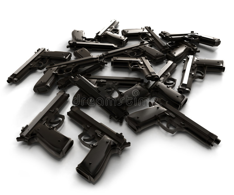 πυροβόλα όπλα στοκ φωτογραφία