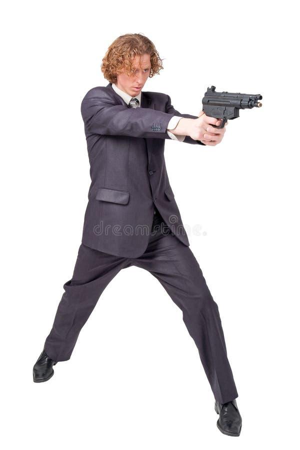 πυροβόλο όπλο επιχειρημ&a στοκ εικόνες με δικαίωμα ελεύθερης χρήσης