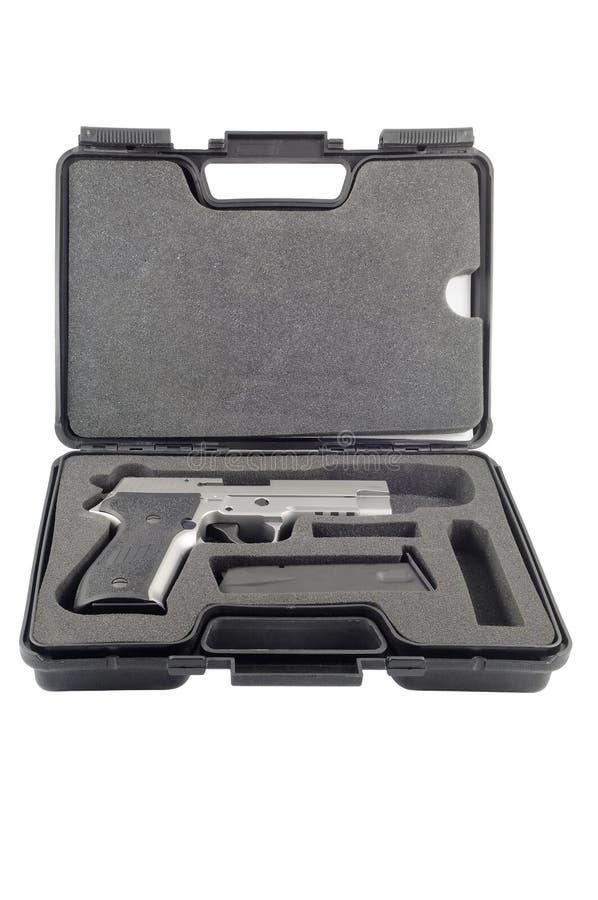 πυροβόλο όπλο περίπτωσης στοκ φωτογραφία