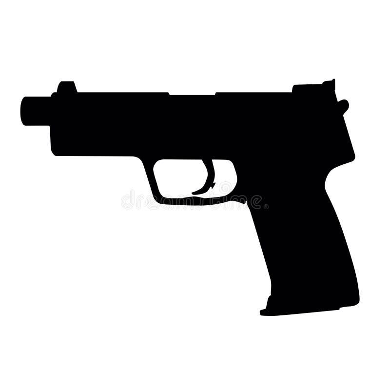 πυροβόλο όπλο ελεύθερη απεικόνιση δικαιώματος