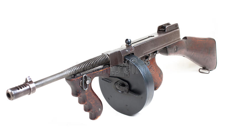 Πυροβόλο όπλο Mashine στοκ φωτογραφία με δικαίωμα ελεύθερης χρήσης