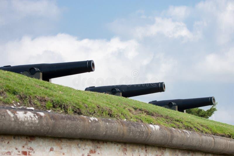 Πυροβόλα 32 λιβρών στοκ φωτογραφία με δικαίωμα ελεύθερης χρήσης
