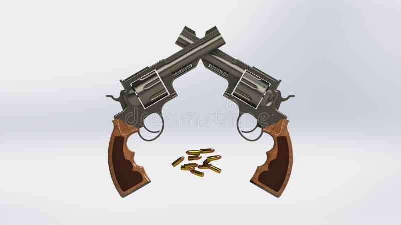 πυροβόλα όπλα ελεύθερη απεικόνιση δικαιώματος