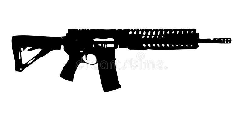 Πυροβόλο όπλο πυρκαγιάς στοκ εικόνα με δικαίωμα ελεύθερης χρήσης
