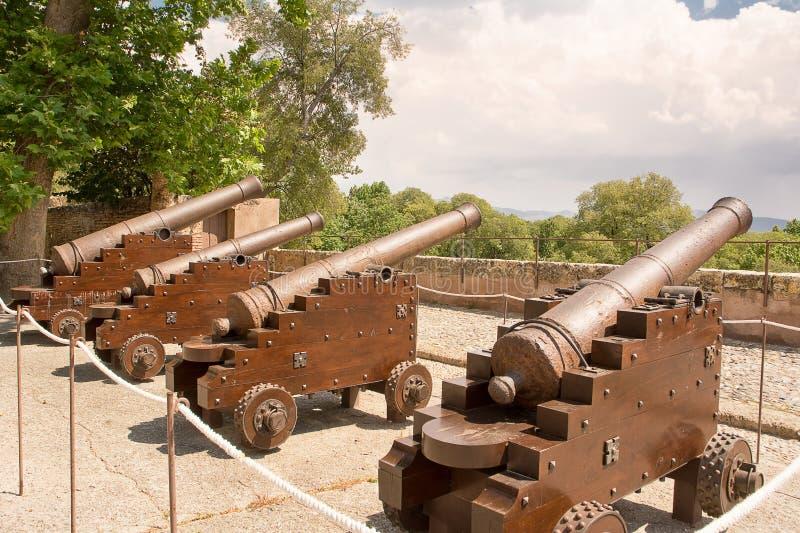 Πυροβόλο Alhambra στοκ εικόνες με δικαίωμα ελεύθερης χρήσης