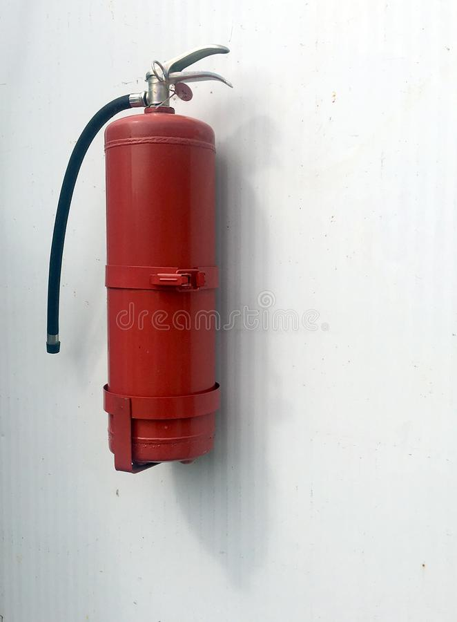 Πυροσβεστήρας Ένας πυροσβεστήρας στοκ φωτογραφία