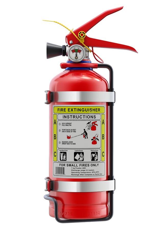 Πυροσβεστήρας αυτοκινήτων απεικόνιση αποθεμάτων