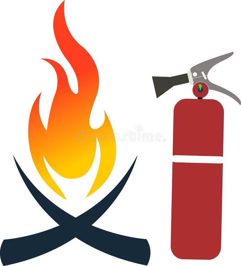 Πυροσβεστήρας διανυσματική απεικόνιση