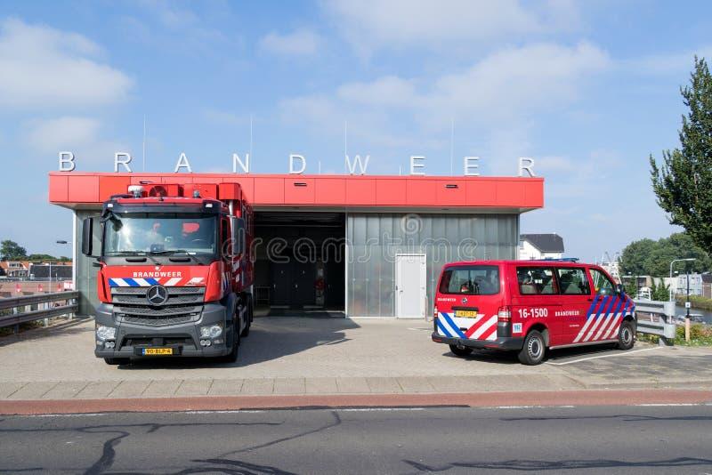 Πυροσβεστικός σταθμός στοκ φωτογραφία