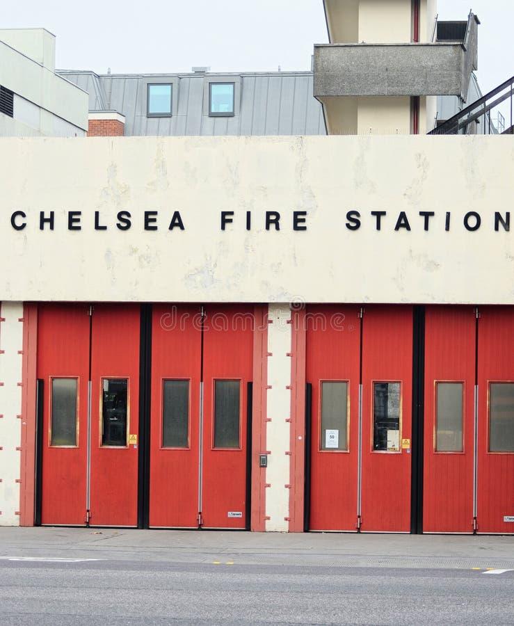 Πυροσβεστικός σταθμός της Chelsea, Λονδίνο, UK στοκ εικόνες