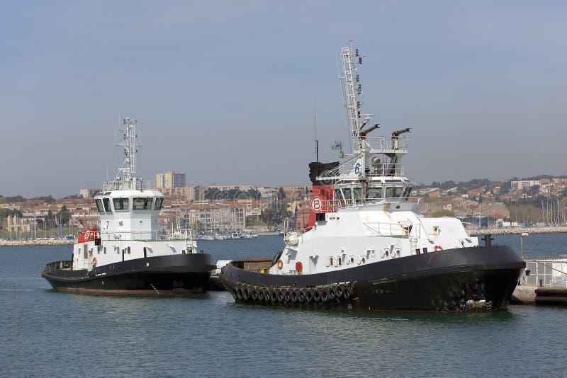 πυροσβεστικό πλοίο δύο στοκ φωτογραφία